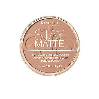 Rimmel London Stay Matte Lightweight Face Powder Mattifying 9Hr 14g Creamy Beige #018
