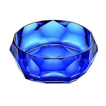 Mario Luca Giusti Supernova Plastic Salad Bowl Royal Blue