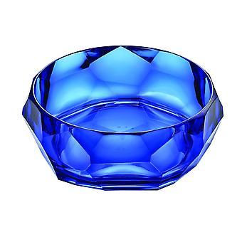 Mario Luca Giusti Supernova Plastic Salad Bowl Royal Blue