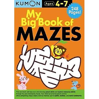 My Big Book of Mazes Bind Up by Publishing Kumon - 9781941082768 Book