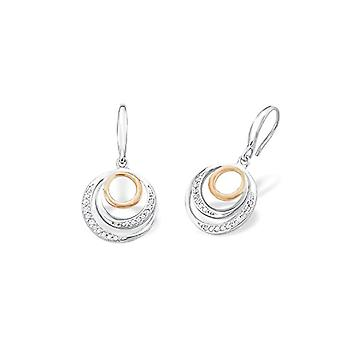 Amor 925 white silver Zirconia cubic FINEEARRING