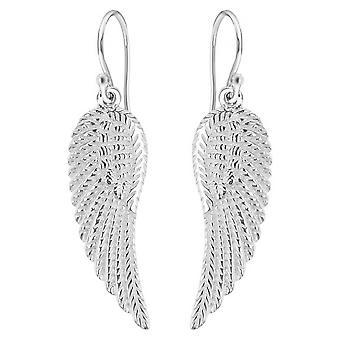 KJ Beckett Wing Drop Earrings - Silver