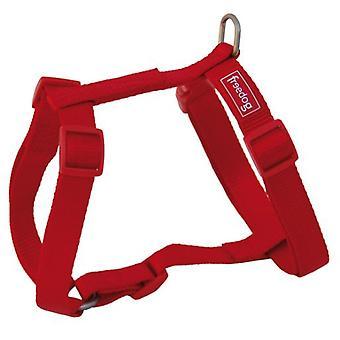 Freedog Nylon harnas voor uw huisdier Basico rood