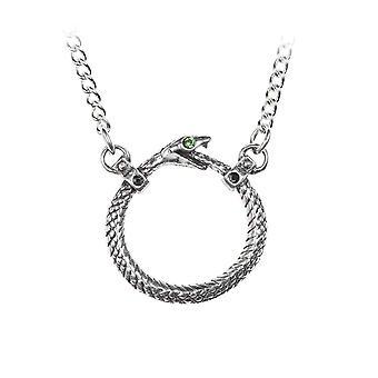 Alchemie Sophia Schlange Halskette