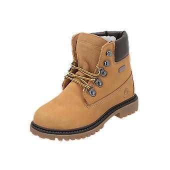 Lumberjack River Kids Boys Boots Beige Lace-Up Boots Winter
