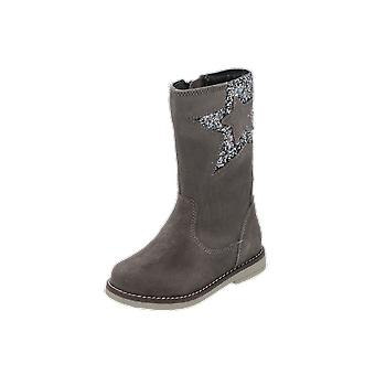 mtng NINA kids girls boots grey lace-up boots winter