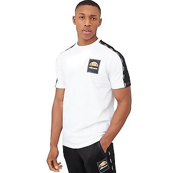 Ellesse Serchio 8572 Tape Half Sleeve T-shirt - weiß