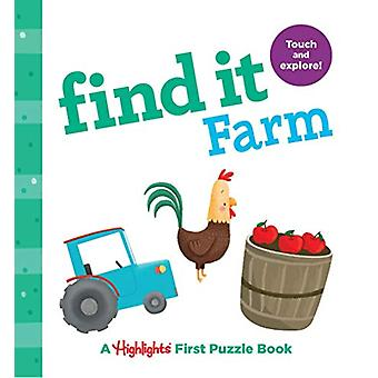 Find it Farm - Baby's First Puzzle Book by Highlights - 9781684372539