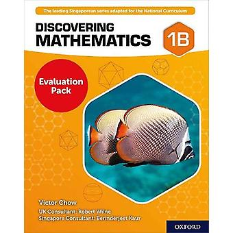 Discovering Mathematics Evaluation Pack by Victor Chow - 978019842671