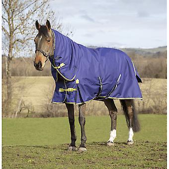 Asker 200g Pferd Combo Hals Weichen Teppich - Navy Blue
