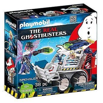 Playset Ghostbusters - Spengler Met Car Playmobil 9386 (38 pc's)