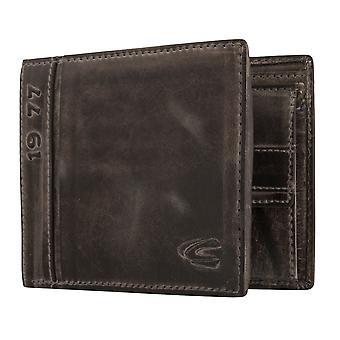 Carteira de carteira de Camel mens ativo bolsa preta 6342