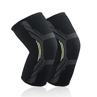 Elastic breathable fitness knee pad support sports protection