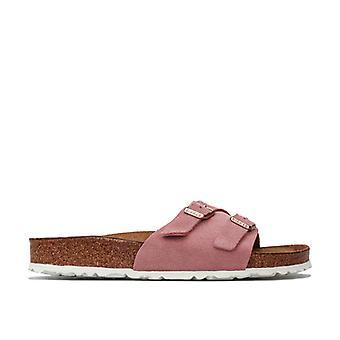 Women's Birkenstock Vaduz Soft Footbed Sandaler Smal bredd i rosa