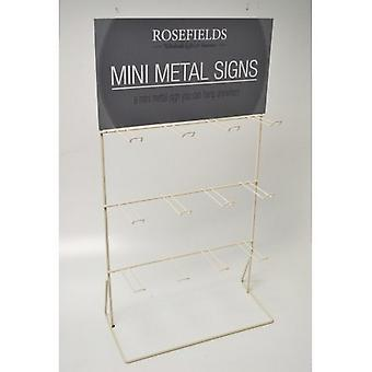 Dangler Sign Display Stand With Header Card