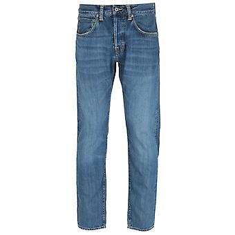 Edwin ED-55 Regular Tapered Fit Blue Midori Wash Denim Jeans