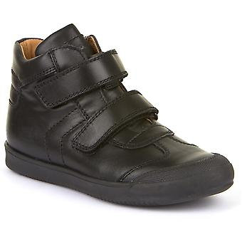 Froddo Boys G3110171 School Boots Black Leather