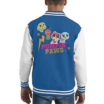 Littlest Pet Shop Pumpin Paws Kid's Varsity Jacket