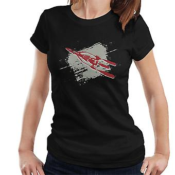 Thunderbirds 3 Space Rocket Graphic Women's T-Shirt
