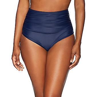 Brand - Coastal Blue Kvinnor & s Badkläder Hög midja Bikini Botten, Nya Na ...