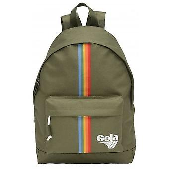 Gola Harlow Rainbow Unisex Backpack in Khaki Multicolour