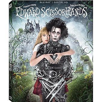Edward Scissorhands: 25th Anniversary [Blu-ray] USA import