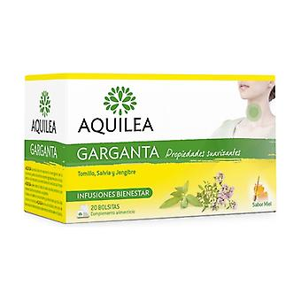 Aquilea Throat Infusions 20 packets