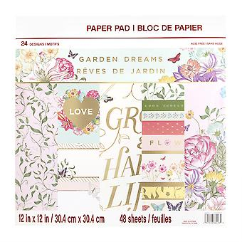 Craft Smith Garden Dreams 12x12 Inch Paper Pads