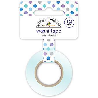 Doodlebug Design Polar Polka Dots Washi Tape