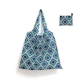 YANGFAN Waterproof Environmental Folding Portable Shopping Bag