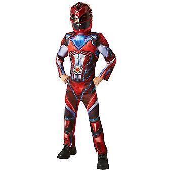 Red Ranger Deluxe Muscle saban's Power Rangers elokuva supersankari pojat puku