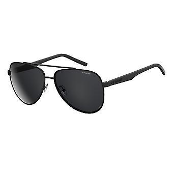 Polaroid PLD2043/S 807/M9 Black/Grey Polarised Sunglasses