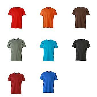 James and Nicholson Mens Workwear T-Shirt