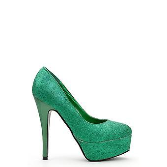Sapatos de plataforma glitter brilhante