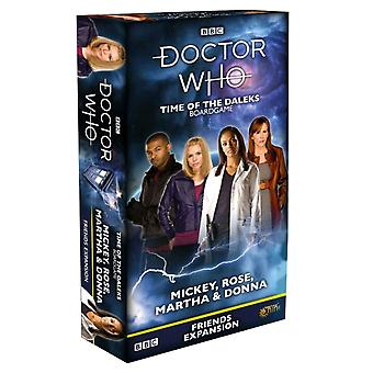 Doctor Who Time Daleks Vrienden Mickey Rose Martha Donna Exp