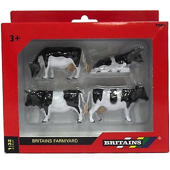 Britains 1:32 Friesian Cattle Farm Playset