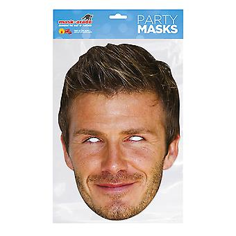 Mask-arade David Beckham Celebrities Party Face Mask