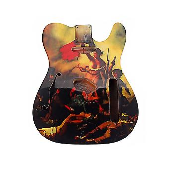 Handcrafted Sanding Electric Guitar Unfinished Body Guitar DIY Part