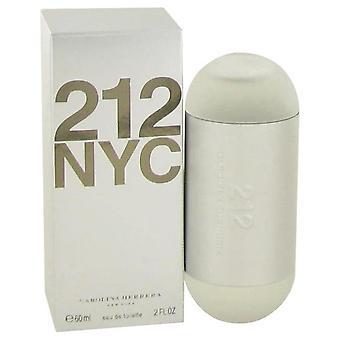 212 Eau de toilette spray (nouvel emballage) par carolina herrera 60 ml