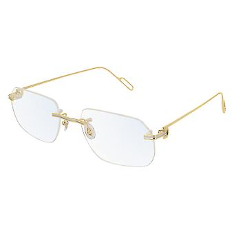 Cartier premiere DE CARTIER CT0113O 003 Gold Glasses