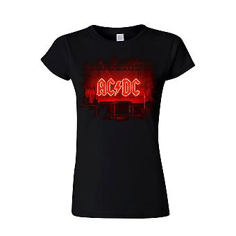 AC/DC PWR Up Stage (lady) T-Shirt, Women