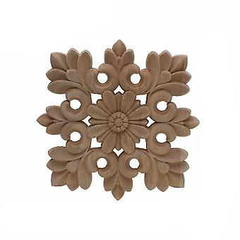 فريدة من نوعها الأزهار الطبيعية المنحوتة التماثيل الخشبية -الحرف الزاوية