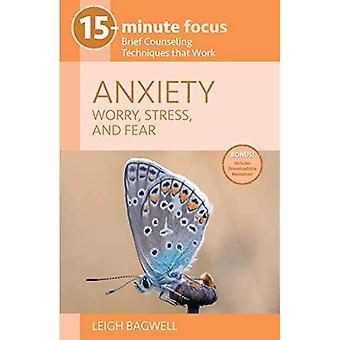 15 minuutin keskittyminen - ahdistus: huoli, stressi ja pelko: lyhyet neuvontatekniikat, jotka toimivat (15 minuutin keskittyminen)