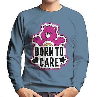 Pflege Bären jubeln Bär geboren, um Männer zu pflegen's Sweatshirt
