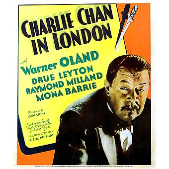 Charlie Chan Lontoo Warner Öölannin 1934 Tm ja Copyright 20Th Century Fox Film Corp kaikki oikeudet ReservedCourtesy Everett Collection elokuvan juliste Masterprint