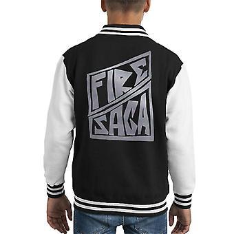 Fire Saga Band Logo Kid's Varsity Takki