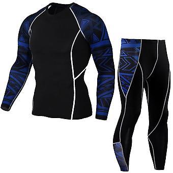 Thermal Underwear Men's Compression Long Suit
