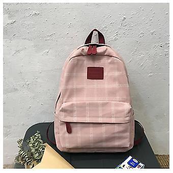 Simple Women Striped Book/travel Shoulder Bag