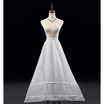 A-خط ثوب نسائي الزفاف، Crinoline زلة تحت تنورة لفستان الزفاف