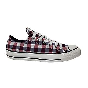 Converse All Star Chuck Taylor OX Low Lace up Canvas Trainers 130016C